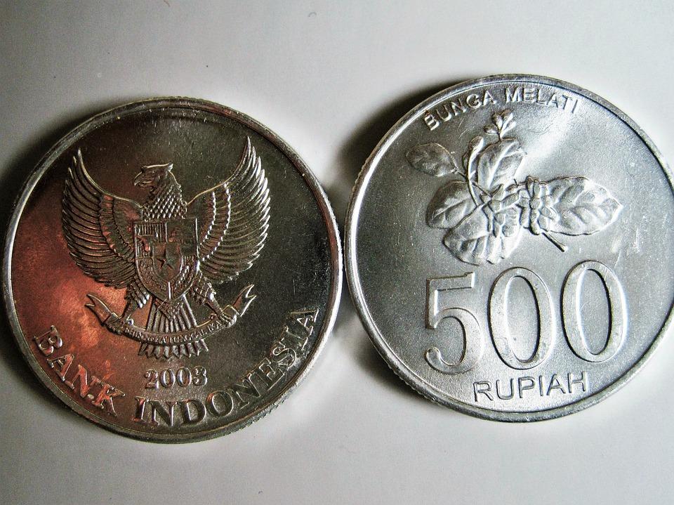 indonéské mince