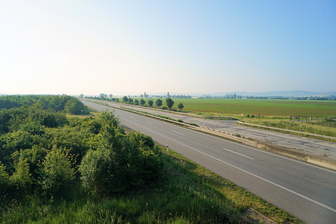 opuštěná dálnice