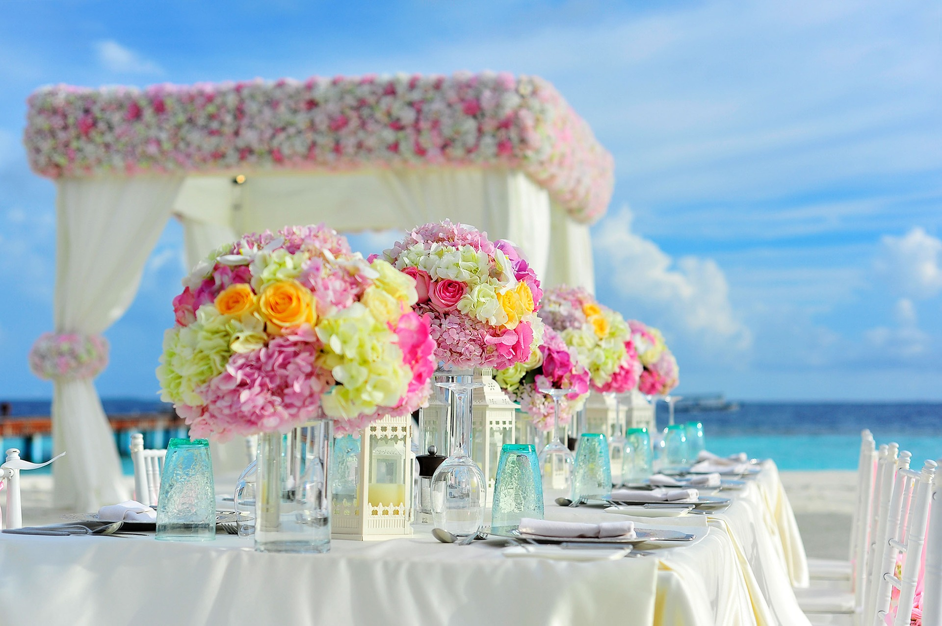svatební prostředí